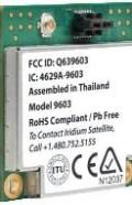 IR-00-SBD3M1201-9603 Iridium 9603 SBD Transceiver Module