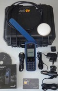 IN-00-136079-100-EX Kit, INMARSAT IsatPhone PRO, EXECUTIVE Hand Held Portable Satellite Telephone, Full 14pce Kit with 100 Prepaid Unit SIM, Validity of Units and Access for up to 2years and Portable Antenna in Pelican 1200 Protective Case