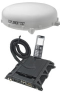 TT-00-403722A-20000 Thrane Explorer 727 BGAN System, with White Antenna