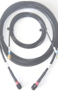 STARPAK-CABLE-118-MSS-KIT Cable Kit, LMR195 and RG316 UltraFlex Low Loss by Times Microwave USA, both cables 3.0m(118in) Gold SMA-Male Connectors