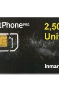 IN-01-GSPS2500E IsatPhone PRO 2500 unit PrePaid SIM CARD with Pre-loaded Airtime,365 day validity
