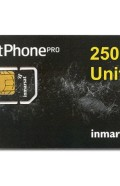 IN-01-GSPS250E IsatPhone PRO 250 unit PrePaid SIM CARD with Pre-loaded Airtime,180 day validity