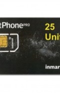 IN-01-GSPS25E IsatPhone PRO 25 unit PrePaid SIM CARD with Pre-loaded Airtime,30 day validity