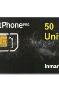 IN-01-GSPS50E IsatPhone PRO 50 unit PrePaid SIM CARD with Pre-loaded Airtime,90 day validity