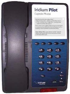 IR-01-BBCA0801 IRIDIUM Pilot, OpenPort Captain Handset
