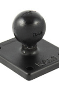 MOUNT-AMPS Starpak™ RAM Fixed Mount Adapter, for use with all STARPAK RAM Mounts featuring 25mm(1.0in) Ball and AMPS SQUARE pattern mounting profile