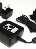 TH-01-SOG4 THURAYA SG2520, SO2510 Travel Charger Wall AC, includes International Plug adapters for UK, EU and AU