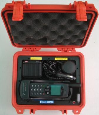 STARPAK-9555SDG-BNDL Iridium 9555 SatDOCK-G Portable Docking Station, Hands Free in Pelican 1200 small hard case, includes 9555 Satellite telephone