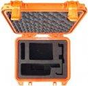 PEL1200-9555-O Iridium 9555 Grab and Go Hard Case, SAFETY ORANGE