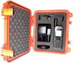 PEL1200-9555-BNDL-O Iridium 9555 Grab and Go Hard Case, SAFETY ORANGE, includes 9555 Satellite Telephone