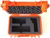 PEL1200-PRO-O IsatPhone PRO Grab and Go Hard Case, for IsatPhone PRO, SAFETY ORANGE